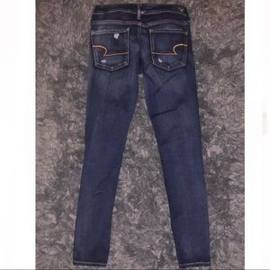 American Eagle Outfitters Jeans - American Eagle size 6 distressed skinny jeggings